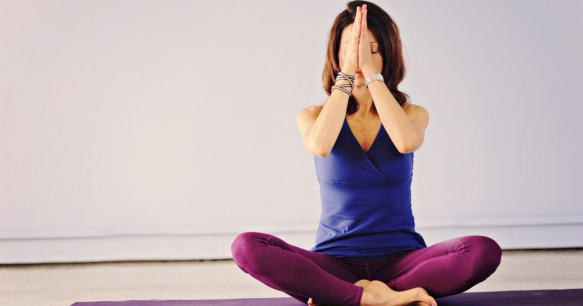 Yoga e exercícios de respiração