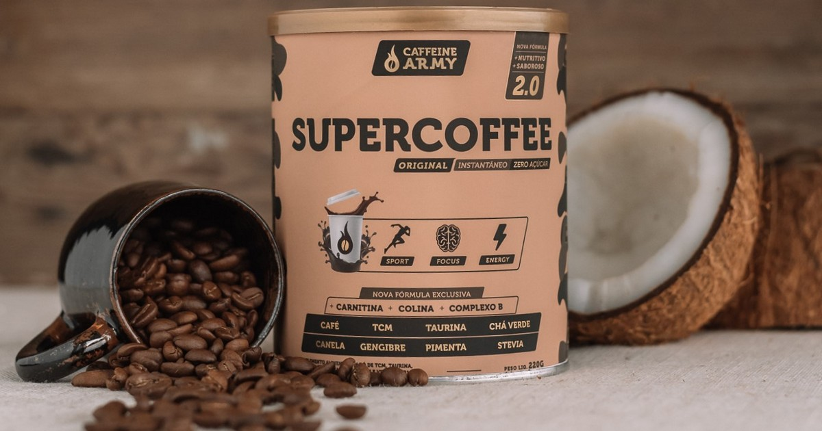 Use o SuperCoffe para fazer seu coffee nap