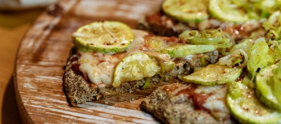 receita pizza low carb